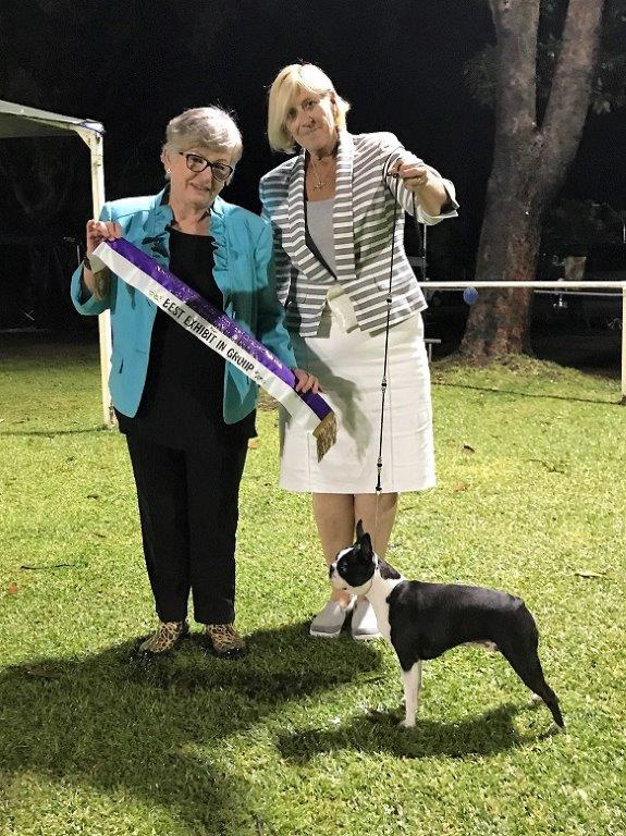 Elke with breeder Deby Norquay_Best in Group_June 2017