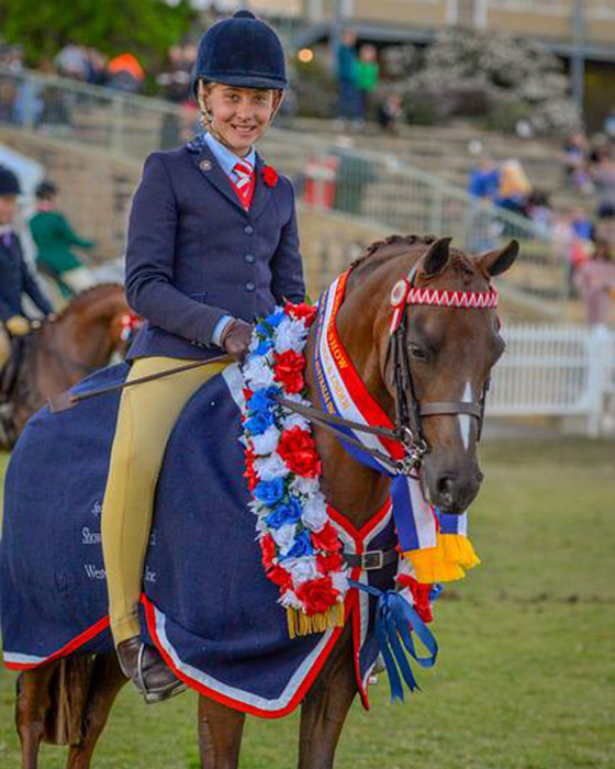 CP Tour of Duty Champion Small Pony Perth Royal 2016