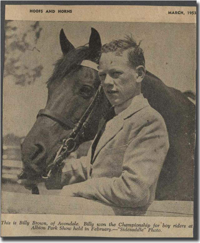 History Gallery Photo 11_ Dad in Hoofs horns article 1953